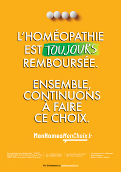 Affiche Homeo toujours remboursee 00919 DEF2 2 248